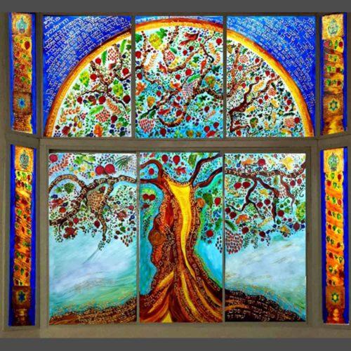 חלונות זכוכית מעוצבים